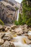 Yosemite Lower fall Stock Images