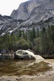 Yosemite lustra jezioro Fotografia Stock