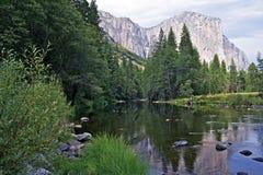 Yosemite Merced flod Royaltyfria Foton