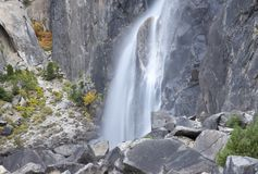 Yosemite Mini Waterfall Stock Photo