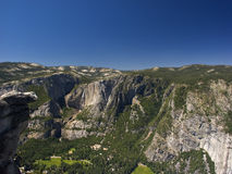 Yosemite mountain view Royalty Free Stock Photos