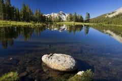 Yosemite-Mountain View Lizenzfreie Stockbilder