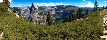 Yosemite Mountain View Royalty Free Stock Photo
