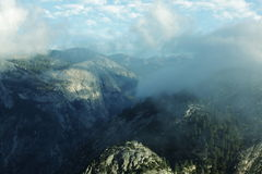 Yosemite mountains Stock Images