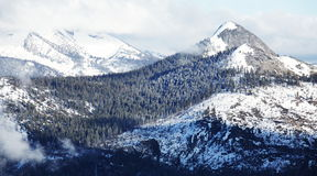 Yosemite mountains Royalty Free Stock Images