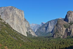 Yosemite. Mountains and rocks sightseeing at Yosemite Royalty Free Stock Image