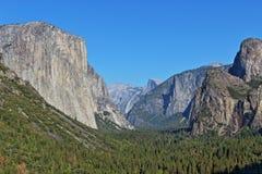 Yosemite. Mountains and rocks sightseeing at Yosemite royalty free stock image