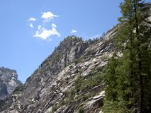 Yosemite Mountainside Royalty Free Stock Photos