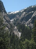 Yosemite Nationa Park. Along the trail in Yosemite Stock Images