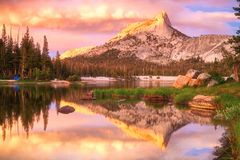 Yosemite Nationaal Park Stock Fotografie