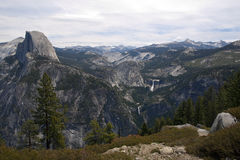 Yosemite National Park. View of half dome from glazier point in yosemite national park Stock Images