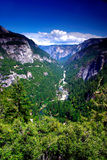 Yosemite National Park. The Yosemite Valley in Yosemite National Park, California Stock Photography