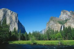 Free Yosemite National Park Royalty Free Stock Photo - 1100755
