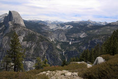 Yosemite National Park. View of half dome from glazier point in yosemite national park Stock Image