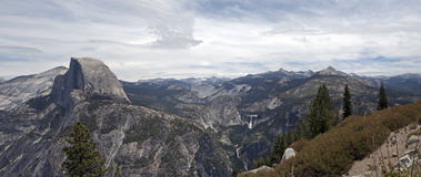 Yosemite National Park. View of half dome from glazier point in yosemite national park Royalty Free Stock Photography