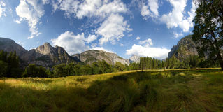 Yosemite National Park. Half Dome From Ahwahnee Meadow at Yosemite National Park Stock Images