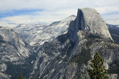 Yosemite National Park. View of Yosemite National Park, California, USA Stock Photo