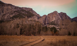 Yosemite National Park. These are beautiful views from Yosemite National Park from the Mariposa CA side entrance stock images