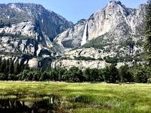 Yosemite Falls View royalty free stock images