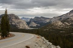 Yosemite National Park in Californa. I, USA royalty free stock images