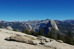 Yosemite National Park, California. With Half Dome Stock Images