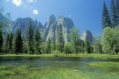Yosemite National Park, California Stock Image