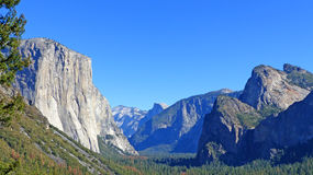 In Yosemite National Park in California Royalty Free Stock Photography