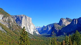 In Yosemite National Park in California Royalty Free Stock Images