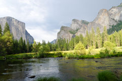 Yosemite National Park, California. Merced River in Yosemite National Park, California Stock Photography