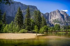 Yosemite national park, California, USA. Yosemite is one of the largest and least fragmented habitat blocks in the Sierra Nevada, and the park supports a Stock Photo