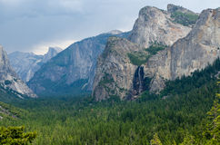 Yosemite National Park, California. View on Yosemite valley in Yosemite National Park, California Royalty Free Stock Photography