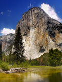 Yosemite National Park, El Capitan. Yosemite National Park, E Capitan - one of the most iconic rock formations in the world. California, U.S Stock Photo