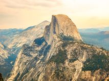 Yosemite National Park Half Dome Mountain Stock Images