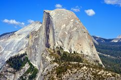 Yosemite National Park - Half Dome view from Glacier Point Stock Image