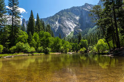 Yosemite National Park - Lake. Looking for peace and serenity, a heaven at high altitude Stock Photo