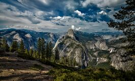 Yosemite, National Park, Landscape Stock Photography