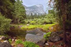 Yosemite National Park landscape, California, USA Royalty Free Stock Image