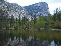 Yosemite National Park - Mirror Lake Royalty Free Stock Images