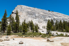 Yosemite National Park - Monolith. A typical granite monolith in Yosemite National Park Royalty Free Stock Photography