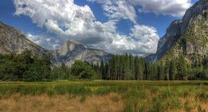 Yosemite National Park, Mountain panorama, America Stock Image