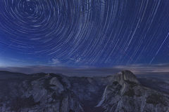 Yosemite National Park at Night Stock Photography