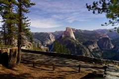 Yosemite at night royalty free stock images