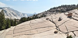 Yosemite National Park: Olmsted Point Stock Photo