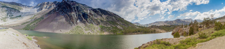 Yosemite National Park Panorama Taken from Observing Point. Cali Stock Image