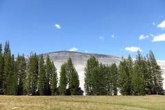Yosemite National Park, the Pothole Dome stock photo