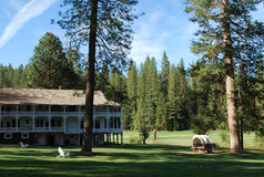 Yosemite National Park resort. This is the photo of Yosemite National Park resort, California, USA Royalty Free Stock Photos