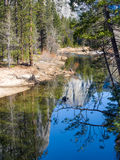 Yosemite National Park. River in Yosemite National Park Stock Photos