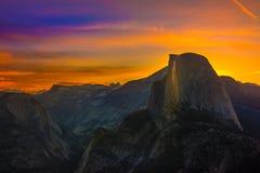 Yosemite National Park Sunrise Glacier Point Royalty Free Stock Photos