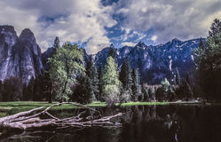 Yosemite National Park. Is a United States National Park spanning eastern portions of Tuolumne, Mariposa and Madera counties in the central eastern portion of royalty free stock photography