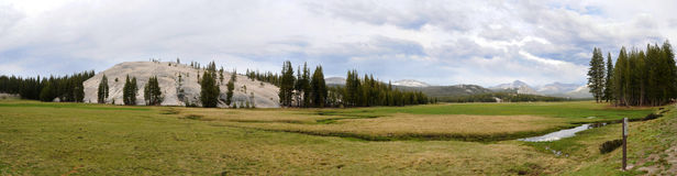 Yosemite National Park. Upper section of Yosemite National Park Royalty Free Stock Images